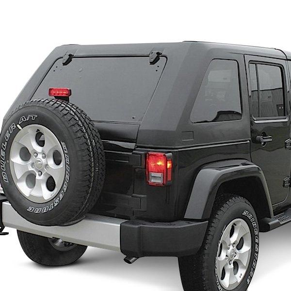 Jeep slanted hard top