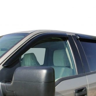 ProMaxx® - Tape-On Smoke Front Window Deflectors