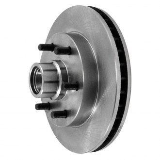 Pronto® - Vented 1-Piece Front Brake Rotor and Hub Assemblies