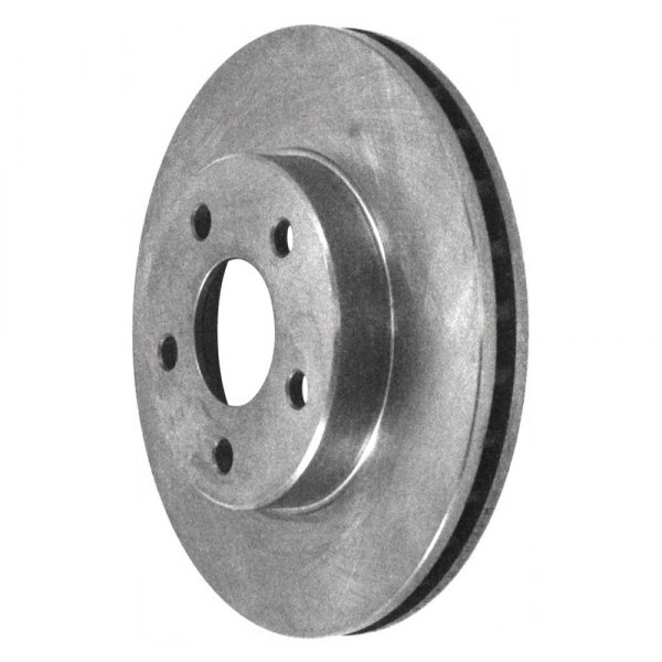 Front 246 mm Brake Disc Rotors And Metallic Brake Pads For Chevy Beretta Corsica