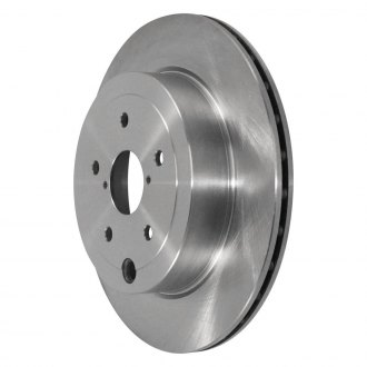 Image may not reflect your exact vehicle! Pronto® - Rear Vented Brake Rotor