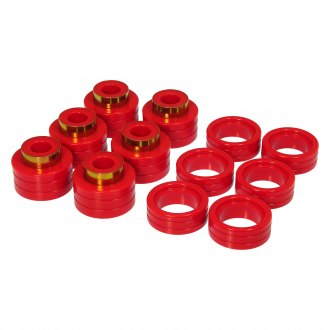 "Prothane® - 0"" Front and Rear Body Mount Bushing Kit"
