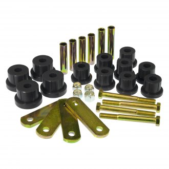 Prothane® - Rear Multi Leaf Spring Eye and Heavy Duty Shackle Bushing Kit