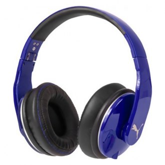 Puma® - Vortice Over-Ear Headphone with Microphone, Blue