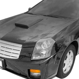Pure® - Fiberglass Hood Scoop
