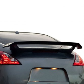 Pure® - Factory Style Fiberglass Flush Mount Rear Spoiler (Unpainted)