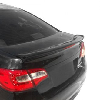 Pure® - Custom Style Fiberglass Flush Mount Rear Spoiler with Light