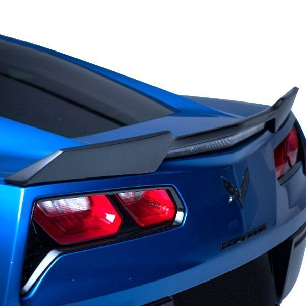 "Pure® - Custom ""Wickerbill"" Inspired Style Fiberglass Flush Mount Rear Spoiler"