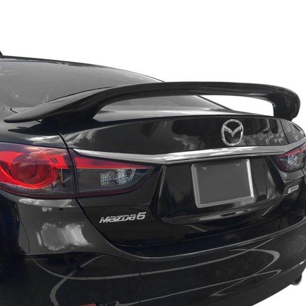 2018 Mazda Mazda6 Camshaft: Mazda 6 2018 Custom Style Fiberglass Rear Spoiler