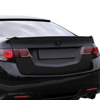2012 Acura TSX Spoilers  Custom Factory Lip  Wing Spoilers