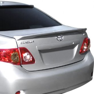 2009 toyota corolla lip spoilers custom factory style. Black Bedroom Furniture Sets. Home Design Ideas