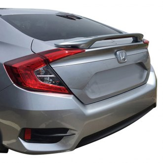 Pure® - Custom Style Inspired Rear Spoiler with Light (Painted)