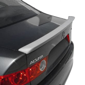 Acura TSX Spoilers  Custom Factory Roof Lip  Wing Spoilers