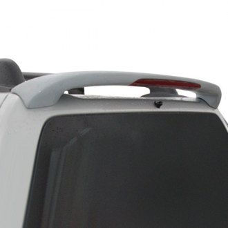 Pure® - Custom Style Fiberglass Rear Roof Spoiler with Light