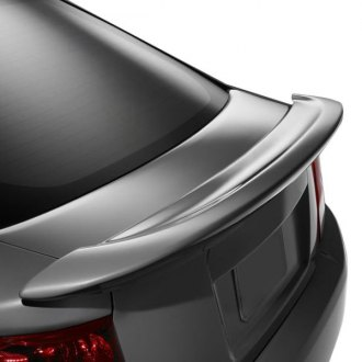 Pure® - Factory Style Fiberglass Flush Mount Rear Spoiler (Painted)