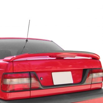 Pure® - Factory Style Fiberglass Rear Spoiler with Light (Unpainted)