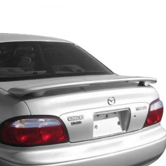 Pure® - Custom Style Fiberglass Rear Spoiler with Light (Painted)