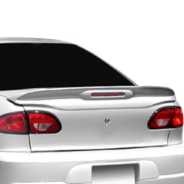 Pure® - Factory Style Fiberglass Flush Mount Rear Spoiler with Light