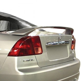 Pure® - Custom Style Rear Spoiler with Light (Painted)