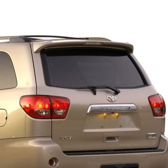 Pure® - Factory Style Top Mount Rear Roof Spoiler with Light