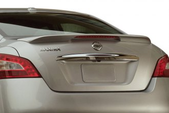 Pure® - Factory Style Flush Mount Rear Spoiler with Light (Unpainted)
