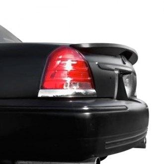 Pure® - Factory Style Flush Mount Rear Spoiler (Painted)