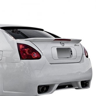 Pure® - Factory Style Fiberglass Rear Lip Spoiler with Light