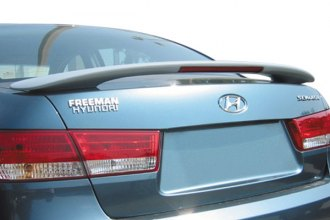 Pure® - Factory Style Rear Spoiler with Light (Unpainted)