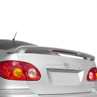 2005 toyota corolla spoilers custom factory lip wing. Black Bedroom Furniture Sets. Home Design Ideas