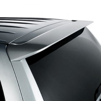 Pure® - Custom Style Fiberglass Rear Roof Spoiler (Unpainted)
