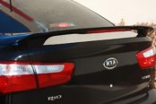 Pure® - Factory Style Fiberglass Rear Spoiler with Light