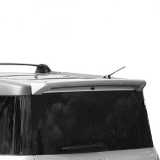 Pure® - Factory Style Fiberglass Rear Roof Spoiler (Painted)