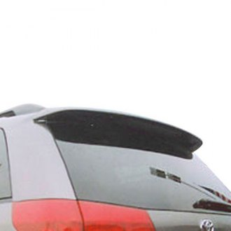 Pure® - Factory Style Fiberglass Rear Roof Spoiler with Light
