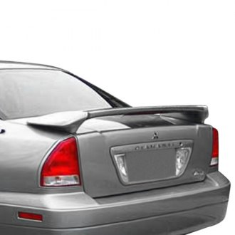 Pure® - Factory Style Fiberglass Rear Spoiler with Light (Painted)