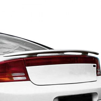 Pure® - Custom Style Fiberglass Rear Spoiler (Painted)