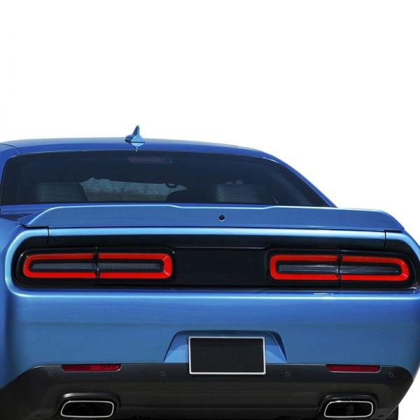 Pure Dodge Challenger 2008 2017 Factory Style Fiberglass Flush Mount Rear Spoiler