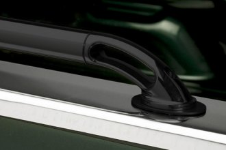 Image may not reflect your exact vehicle!Putco® - Black Powdercoat Locker Side Rails