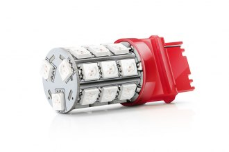 Putco® 231157R-360 - LED 360° Bulbs (1157, Red)