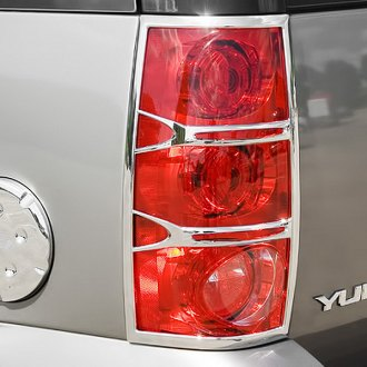 Putco® - Style 1 Chrome Tail Light Bezels