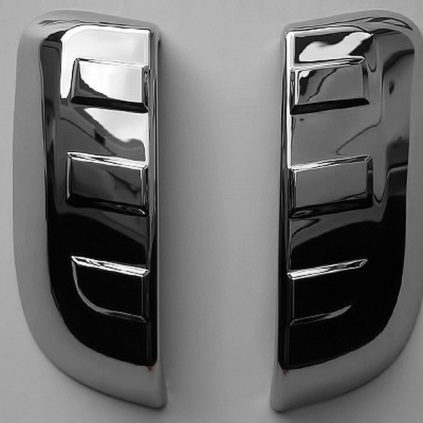 PUTCO� - Chrome Rear Paddle Handle Covers