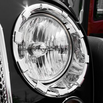 Putco® - Chrome Headlight Rings