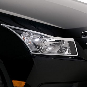 Chevy Cruze Seat Covers >> 2014 Chevy Cruze Chrome Headlight Bezels & Covers — CARiD.com