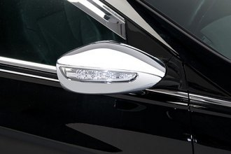 Putco® 401752 - Chrome Mirror Covers with LED Opening