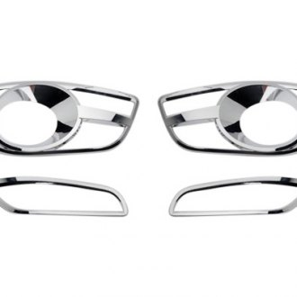 Putco® - Chrome Fog Light Bezels