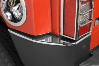 Putco® - Chrome Rear Bumper Covers