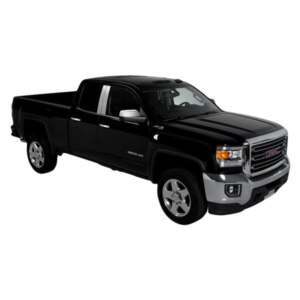 Putco gmc sierra double cab crew cab 2015 pillar posts - 2015 gmc sierra interior accessories ...