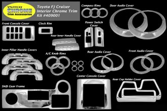 Putco® - Interior Chrome Accessory Kit
