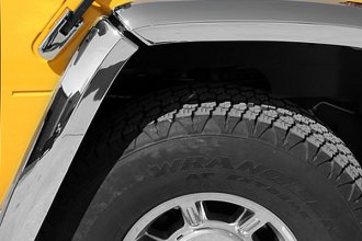 Putco® - Chrome Fender Trim