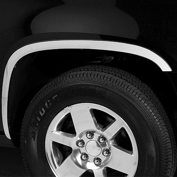 Putco 97176 Chevy Avalanche 2007 Polished Fender Trim