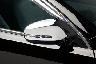 Putco® 401702 - Chrome Mirror Covers with LED Opening